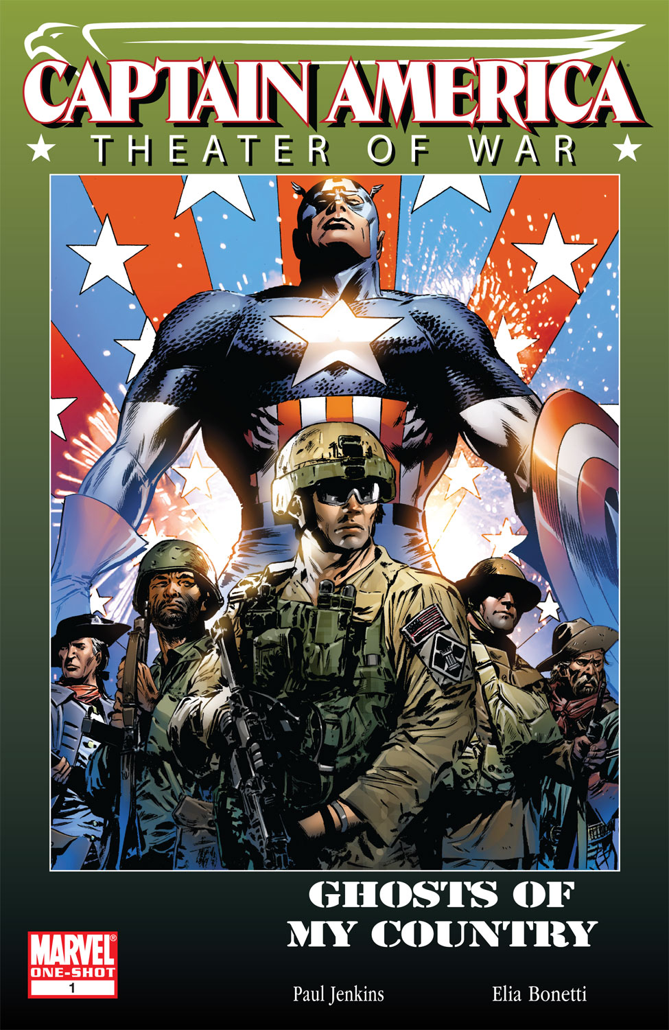 Captain America: Theater of War: Ghosts of My Country (2009) #1