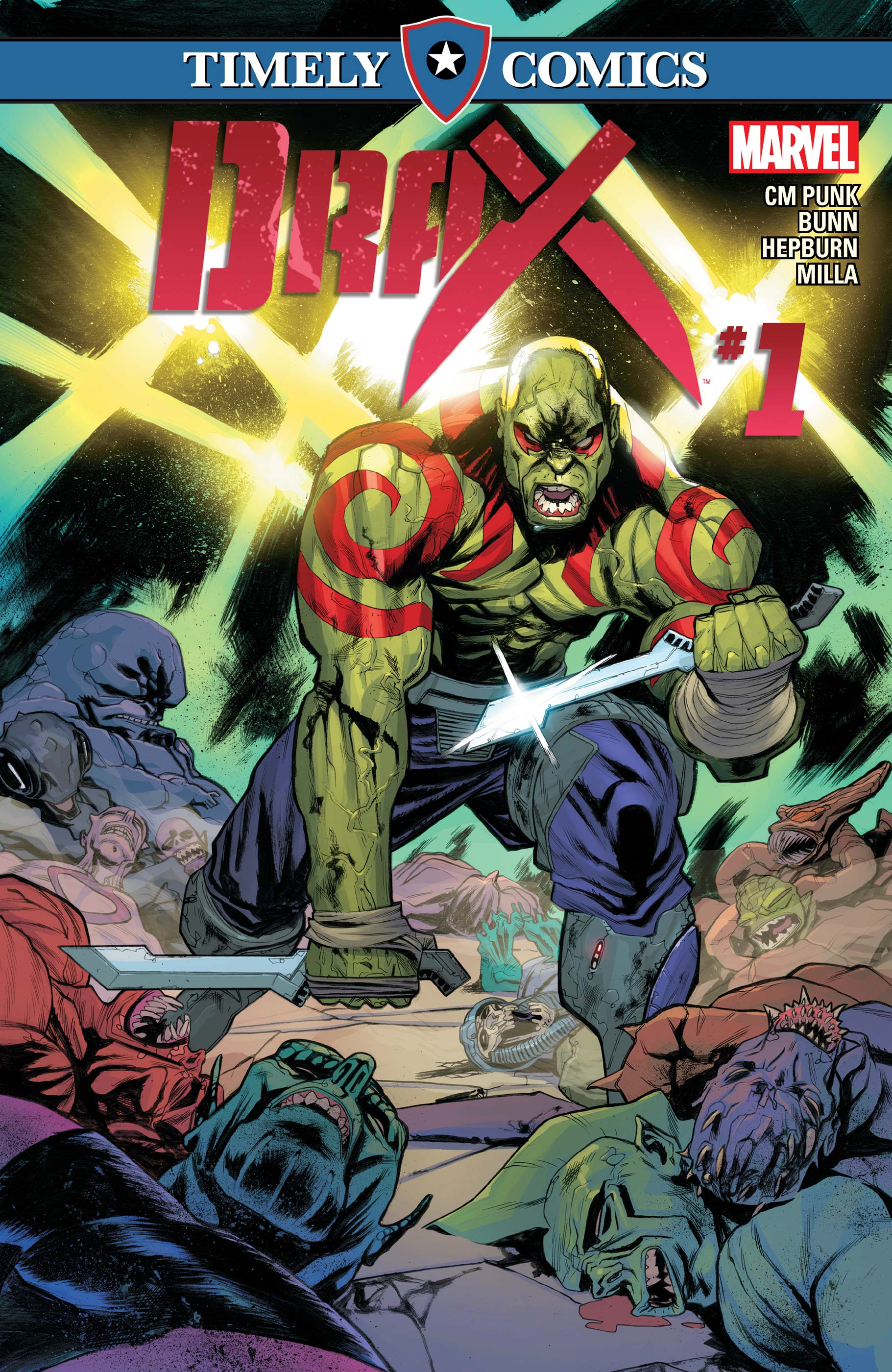 Timely Comics: Drax (2016) #1