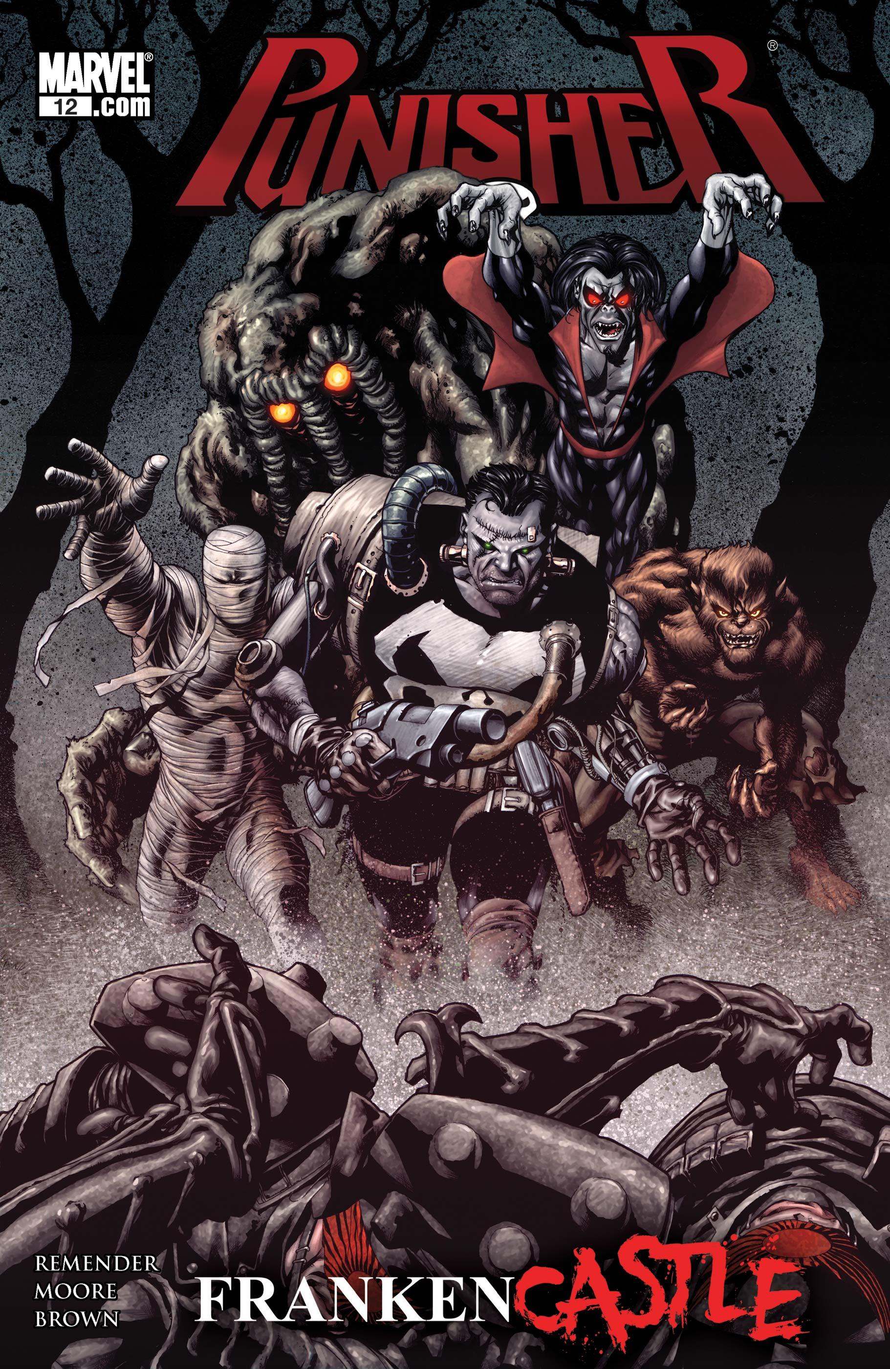Punisher (2009) #12