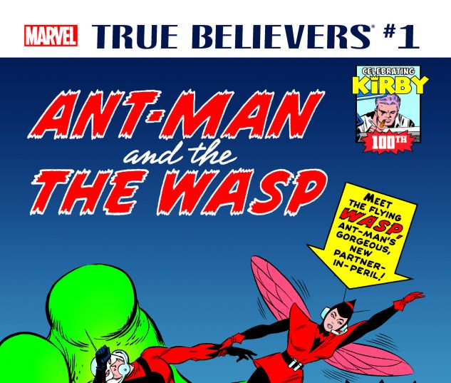 cover from True Believers: Kirby 100th - Ant-Man and the Wasp (2017) #1