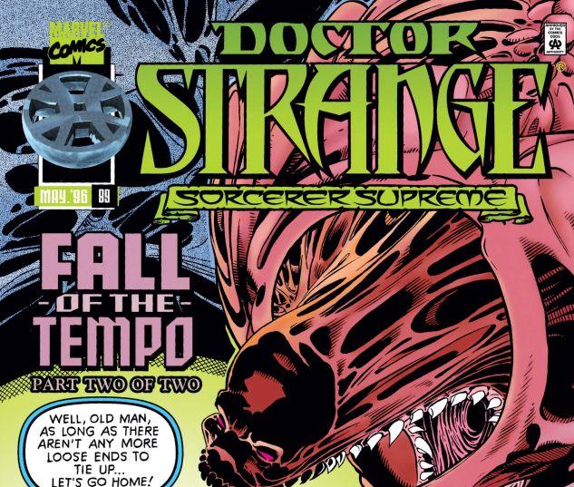 Cover for DOCTOR STRANGE, SORCERER SUPREME 89