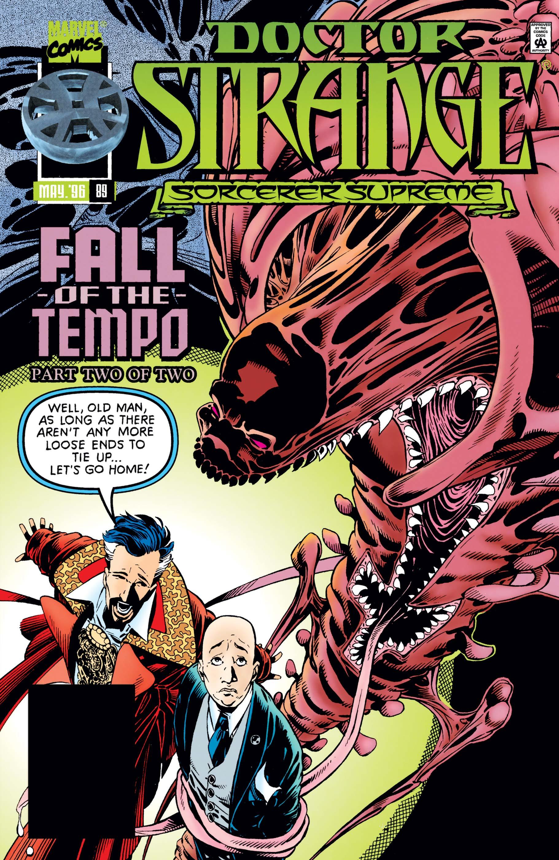 Doctor Strange, Sorcerer Supreme (1988) #89