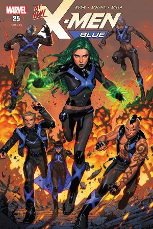 X-Men: Blue (2017) #25