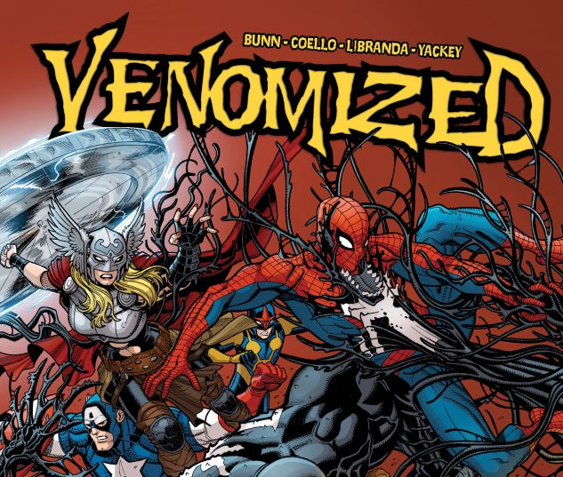 cover from VENOMIZED TPB (2018) #2
