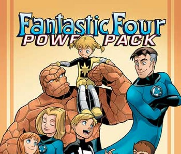 cover from Fantastic Four and Power Pack Infinite Comic (2018) #1