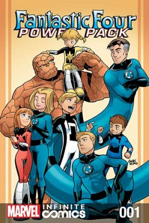 Fantastic Four and Power Pack #1