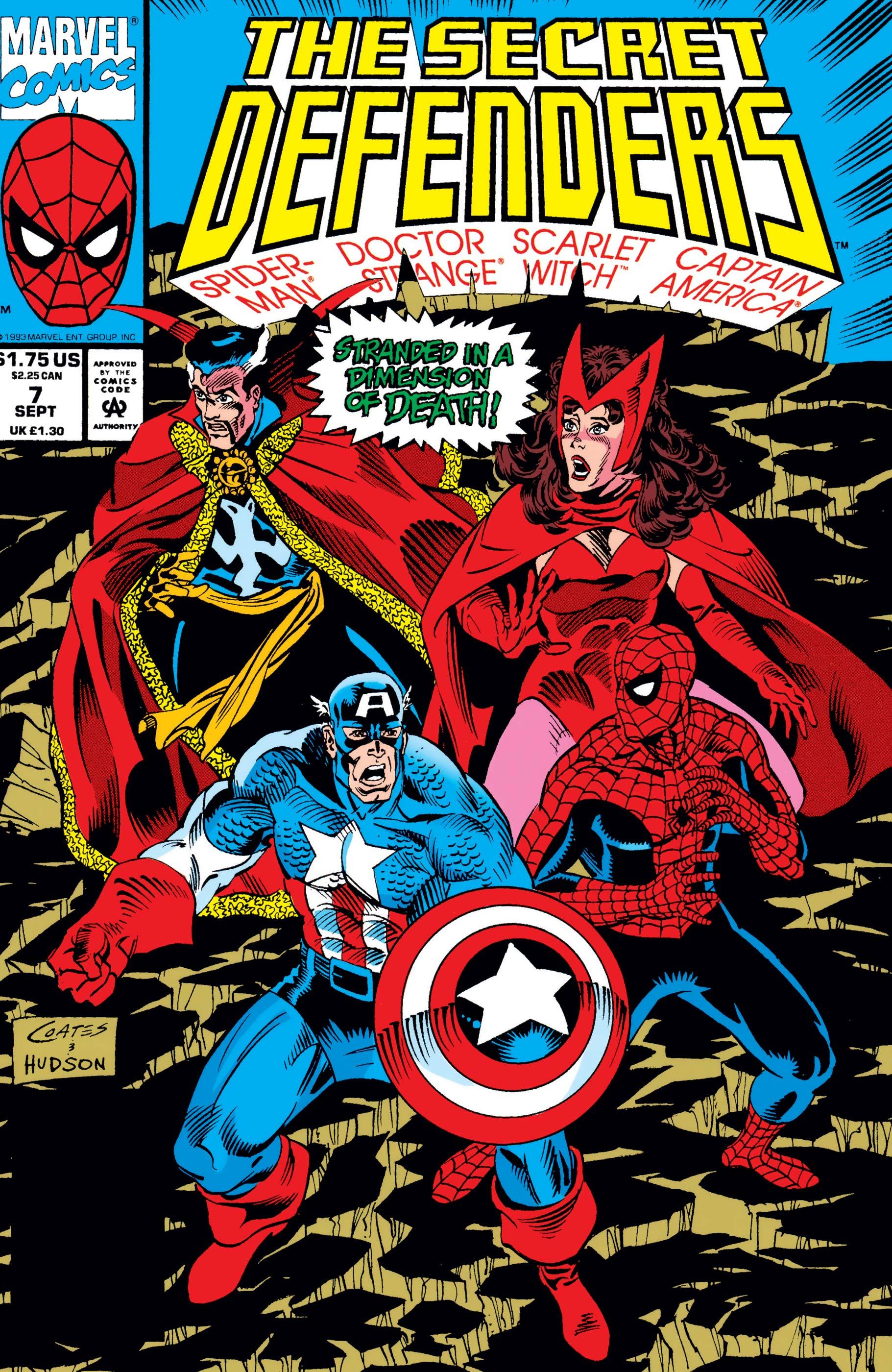 Secret Defenders (1993) #7