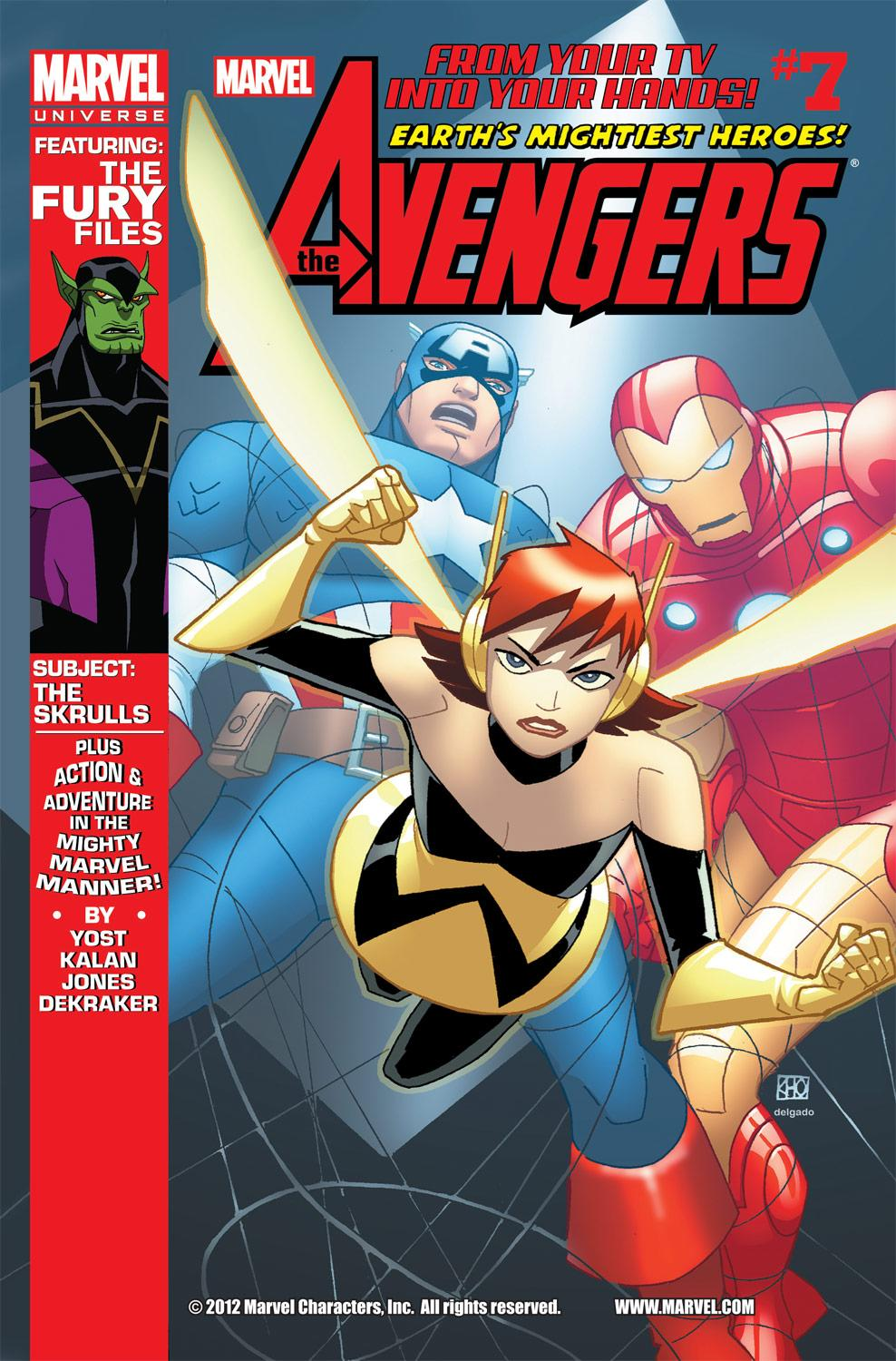 Marvel Universe Avengers: Earth's Mightiest Heroes (2012) #7