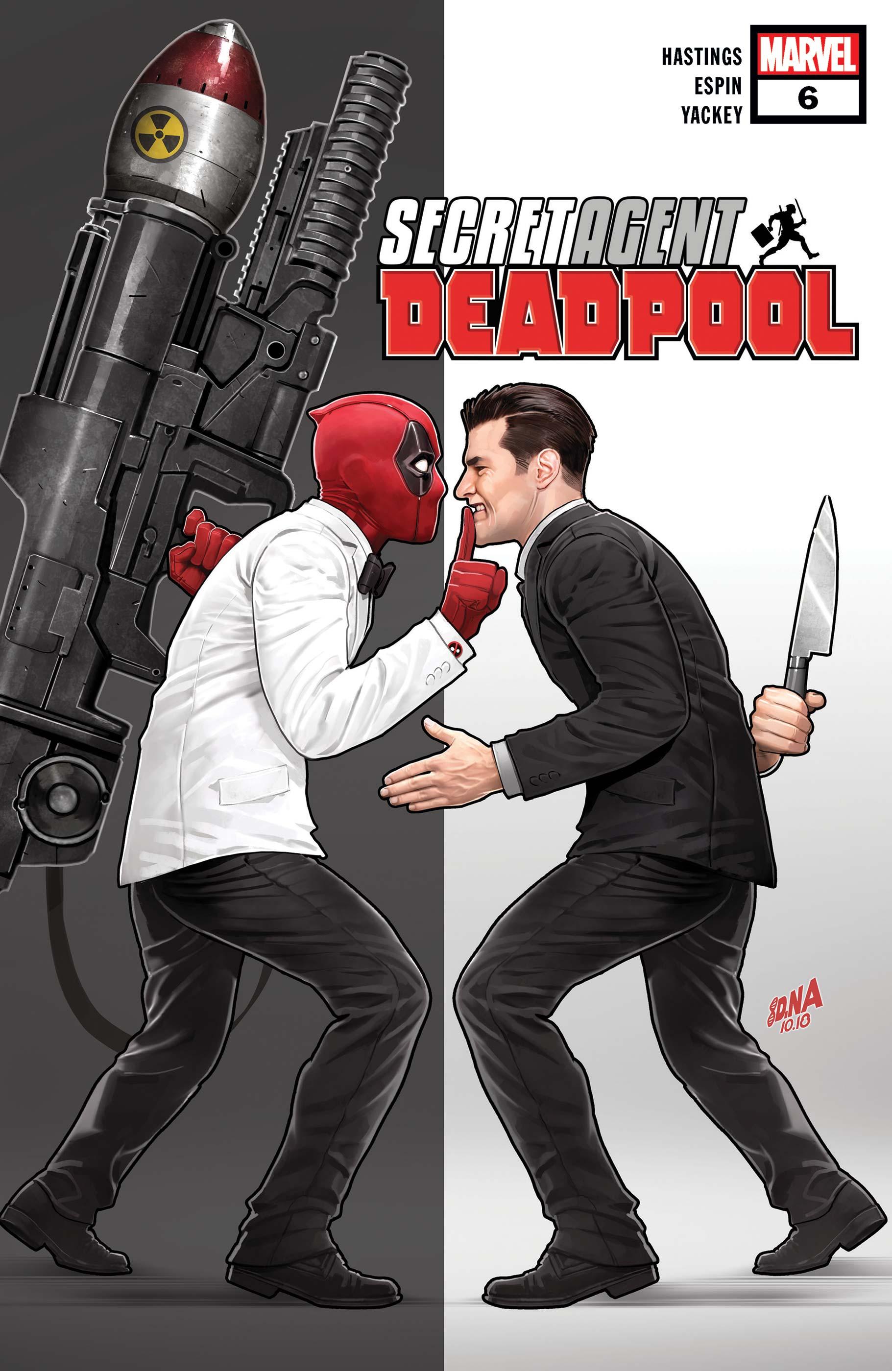 Deadpool: Secret Agent Deadpool (2018) #6