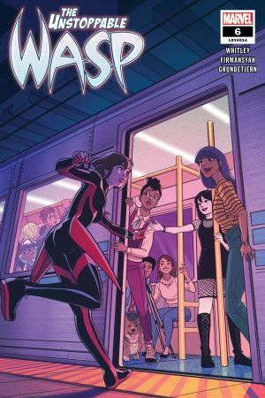 The Unstoppable Wasp (2018) #6