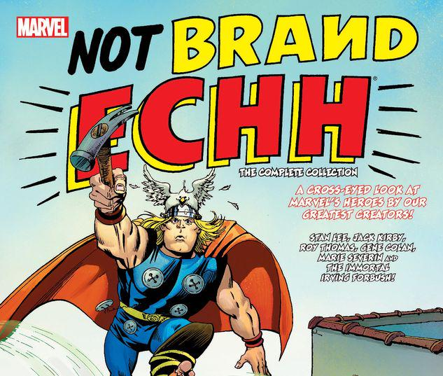 NOT BRAND ECHH: THE COMPLETE COLLECTION TPB #1