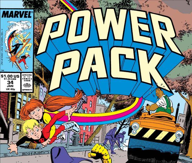 Power Pack (1984) #34
