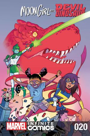 Moon Girl and Devil Dinosaur Infinite Comic #20