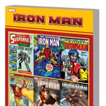 Iron Man: Official Index to the Marvel Universe (Graphic Novel)