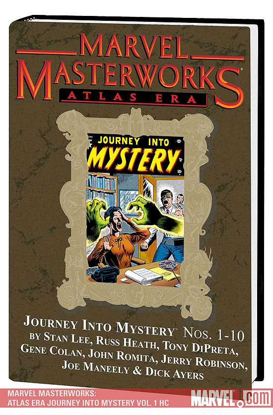 Marvel Masterworks: Atlas Era Journey Into Mystery Vol. 1 (Hardcover)