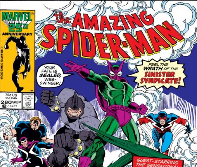 AMAZING SPIDER-MAN (1965) #280 COVER