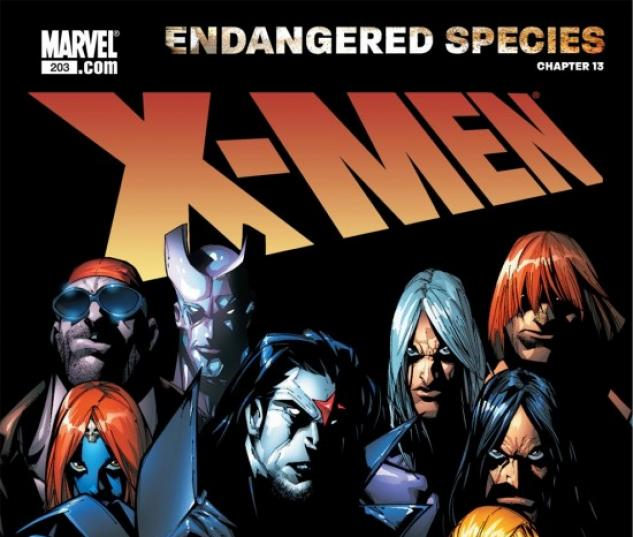 X-MEN: ENDANGERED SPECIES BACK-UP STORY #13