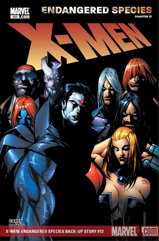 X-Men: Endangered Species Back-Up Story (2007) #13