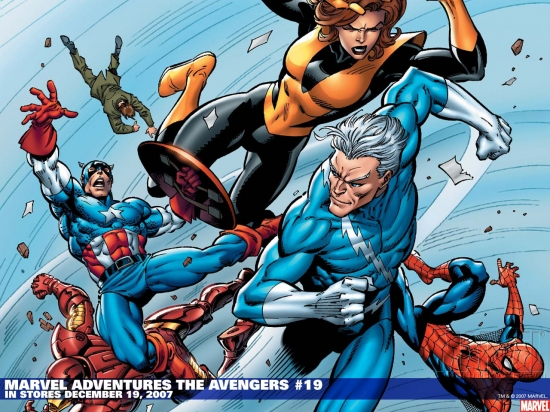 Marvel Adventures the Avengers (2006) #19 Wallpaper