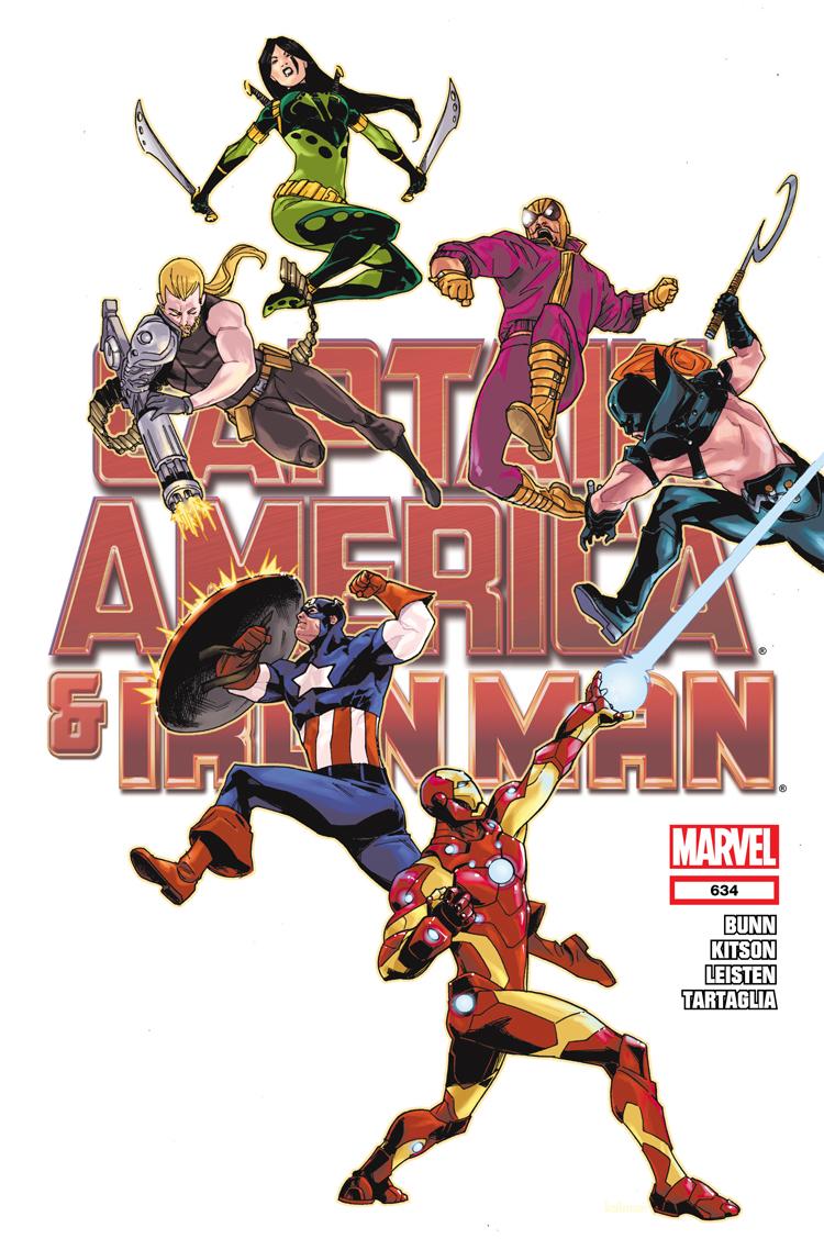 Captain America and Bucky (2011) #634