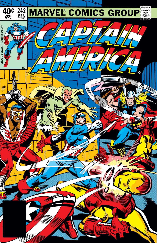 Captain America (1968) #242