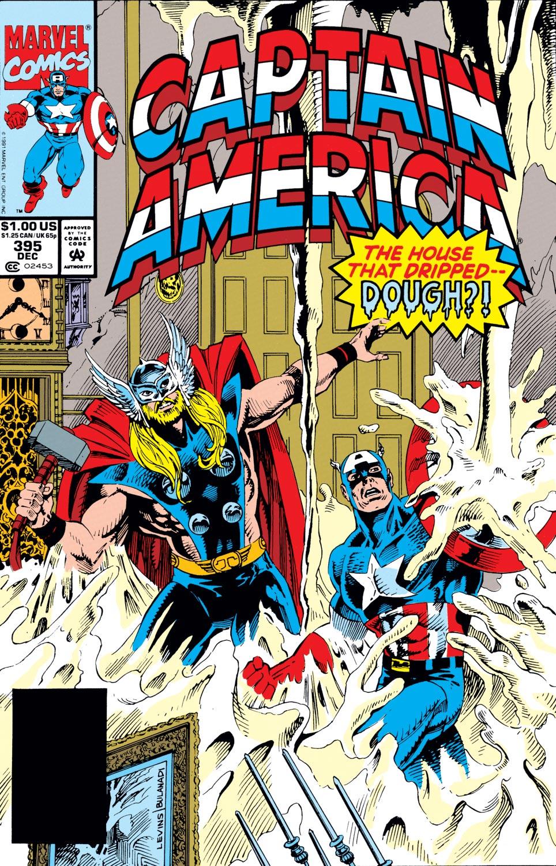 Captain America (1968) #395