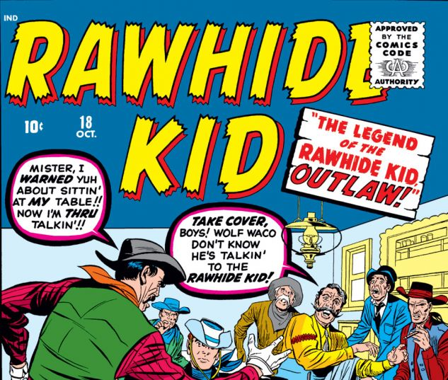 Rawhide Kid (1960) #18 Cover