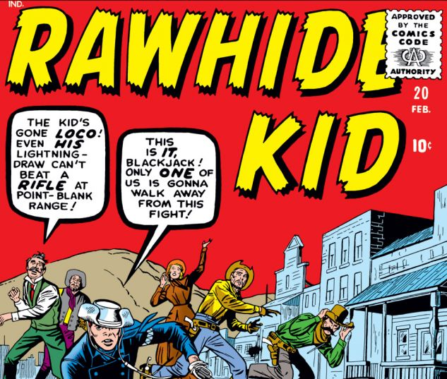 Rawhide Kid (1960) #20 Cover