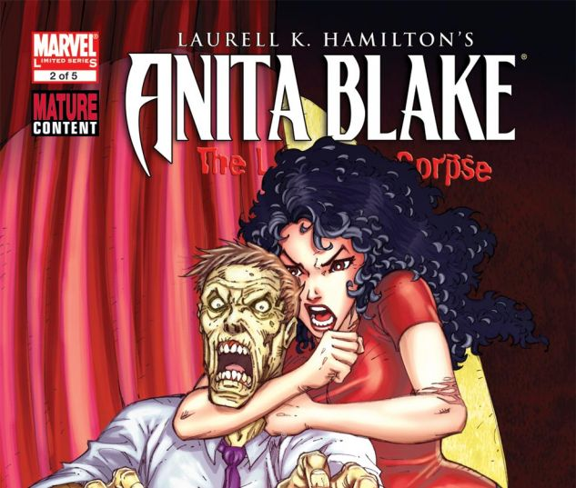 ANITA BLAKE: THE LAUGHING CORPSE - NECROMANCER (2009) #2 Cover