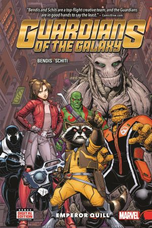Guardians of The Galaxy: New Guard Vol. 1 - Emperor Quill (Hardcover)