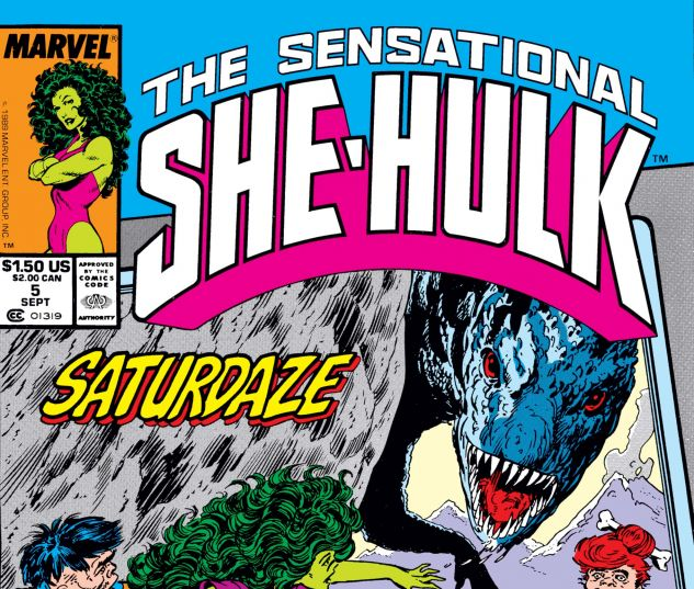 Cover for SENSATIONAL SHE-HULK 5