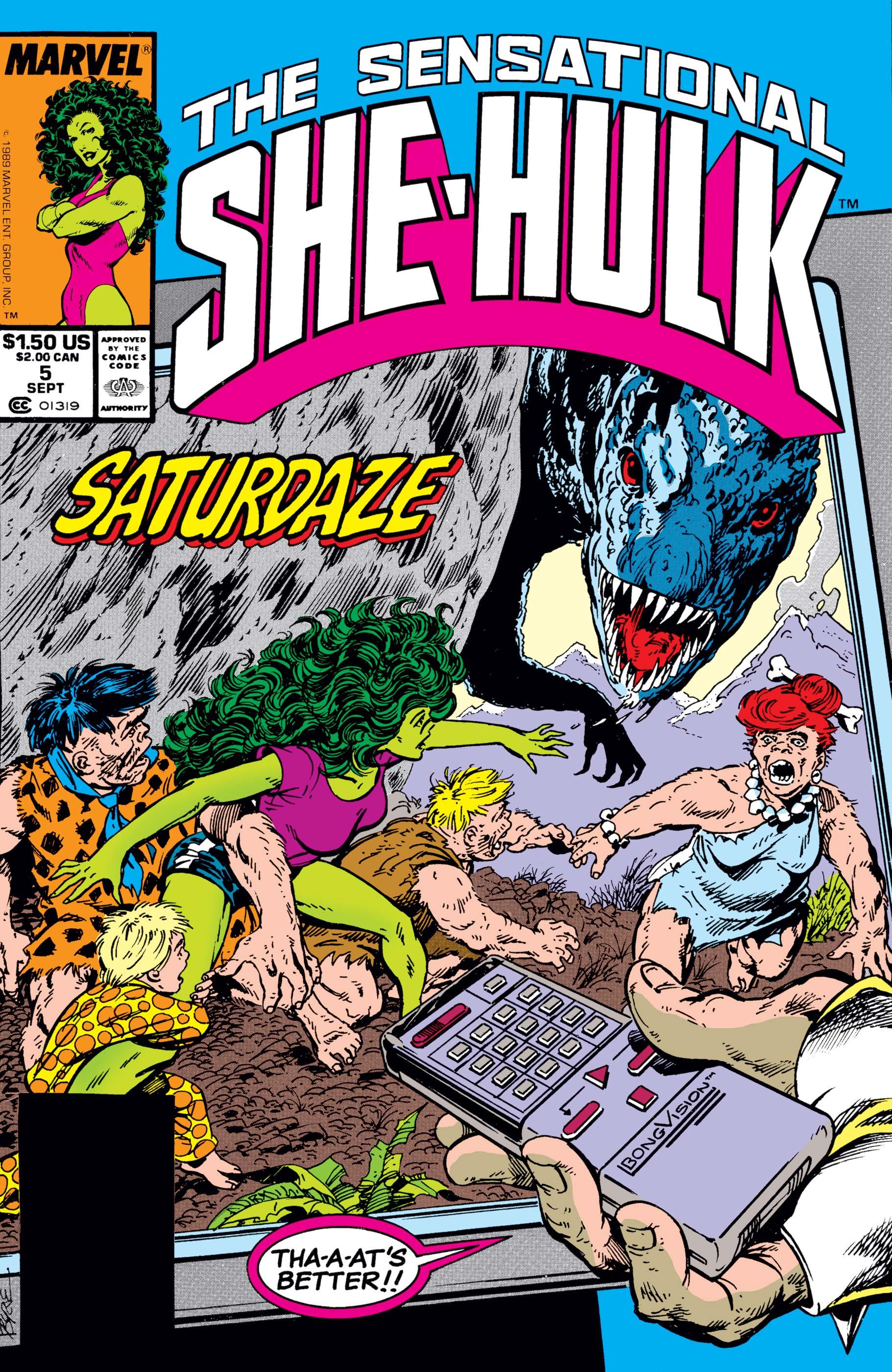 Sensational She-Hulk (1989) #5