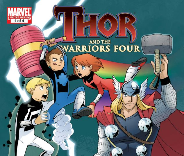 Thor and the Warriors Four (2010) #1