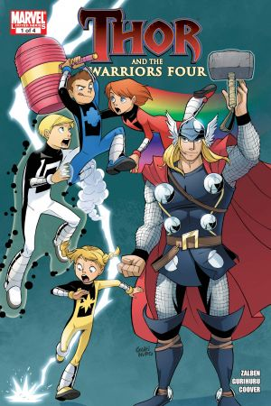 Thor and the Warriors Four #1