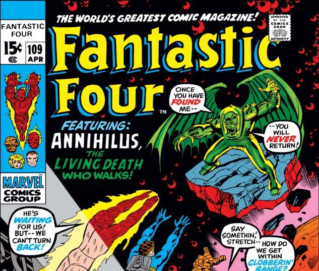 FANTASTIC FOUR (1961) #109