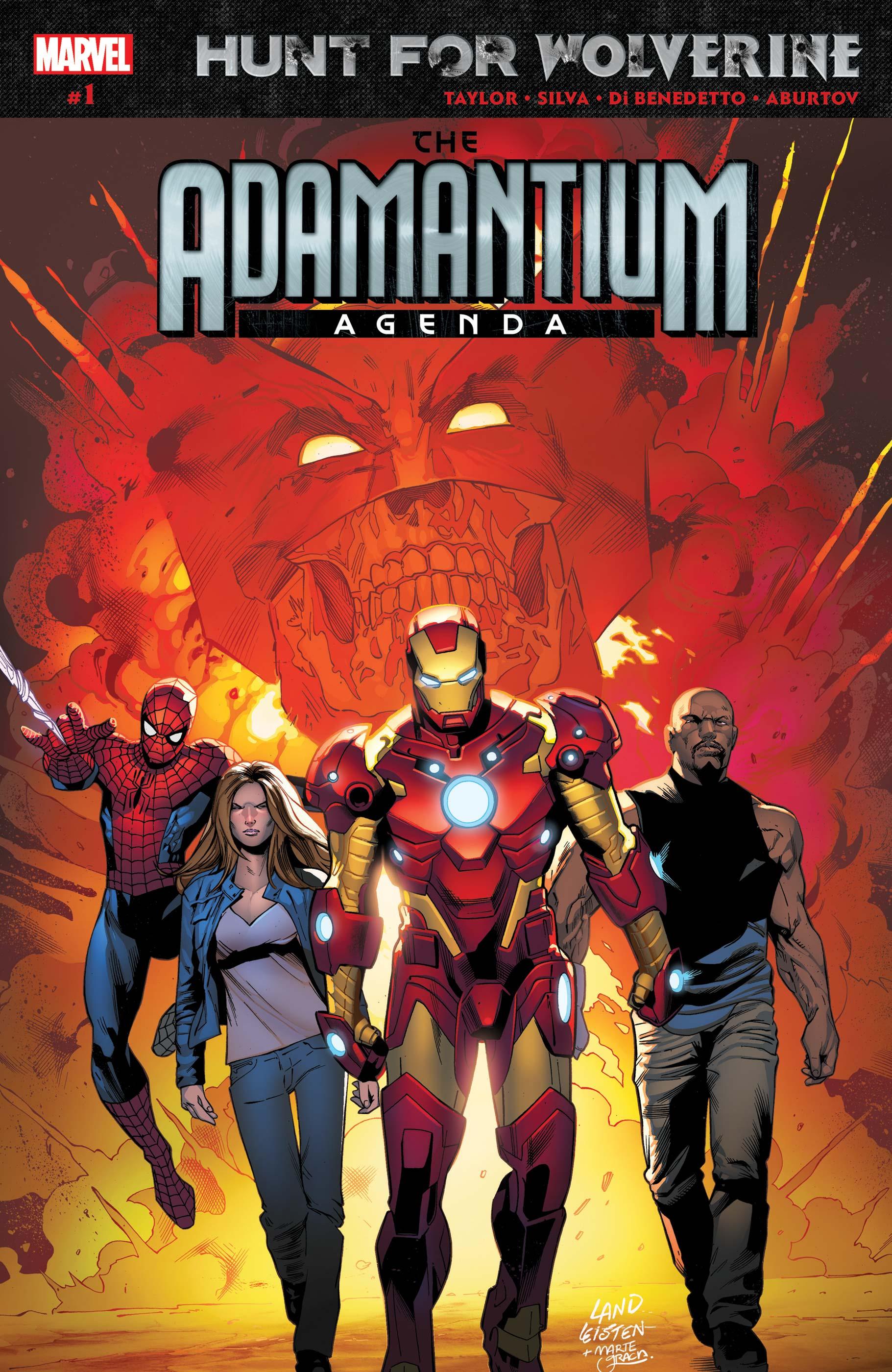 Hunt for Wolverine: Adamantium Agenda (2018) #1