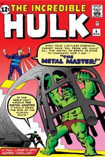 INCREDIBLE HULK (1962) #6