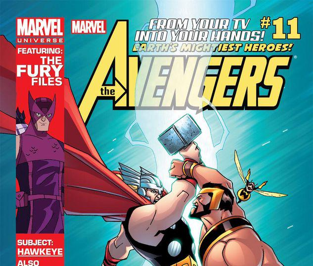 Marvel Universe AVENGERS: EARTH'S MIGHTIEST HEROES  #11