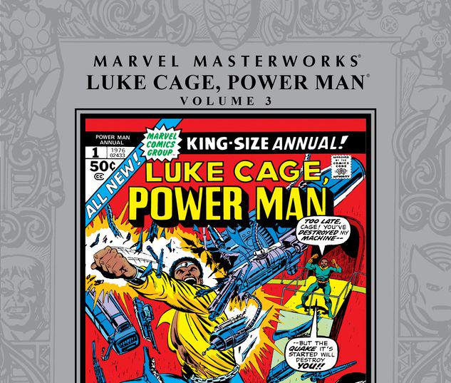 MARVEL MASTERWORKS: LUKE CAGE, POWER MAN VOL. 3 HC #0