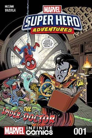 Marvel Super Hero Adventures: The Spider-Doctor Infinite Comic #1