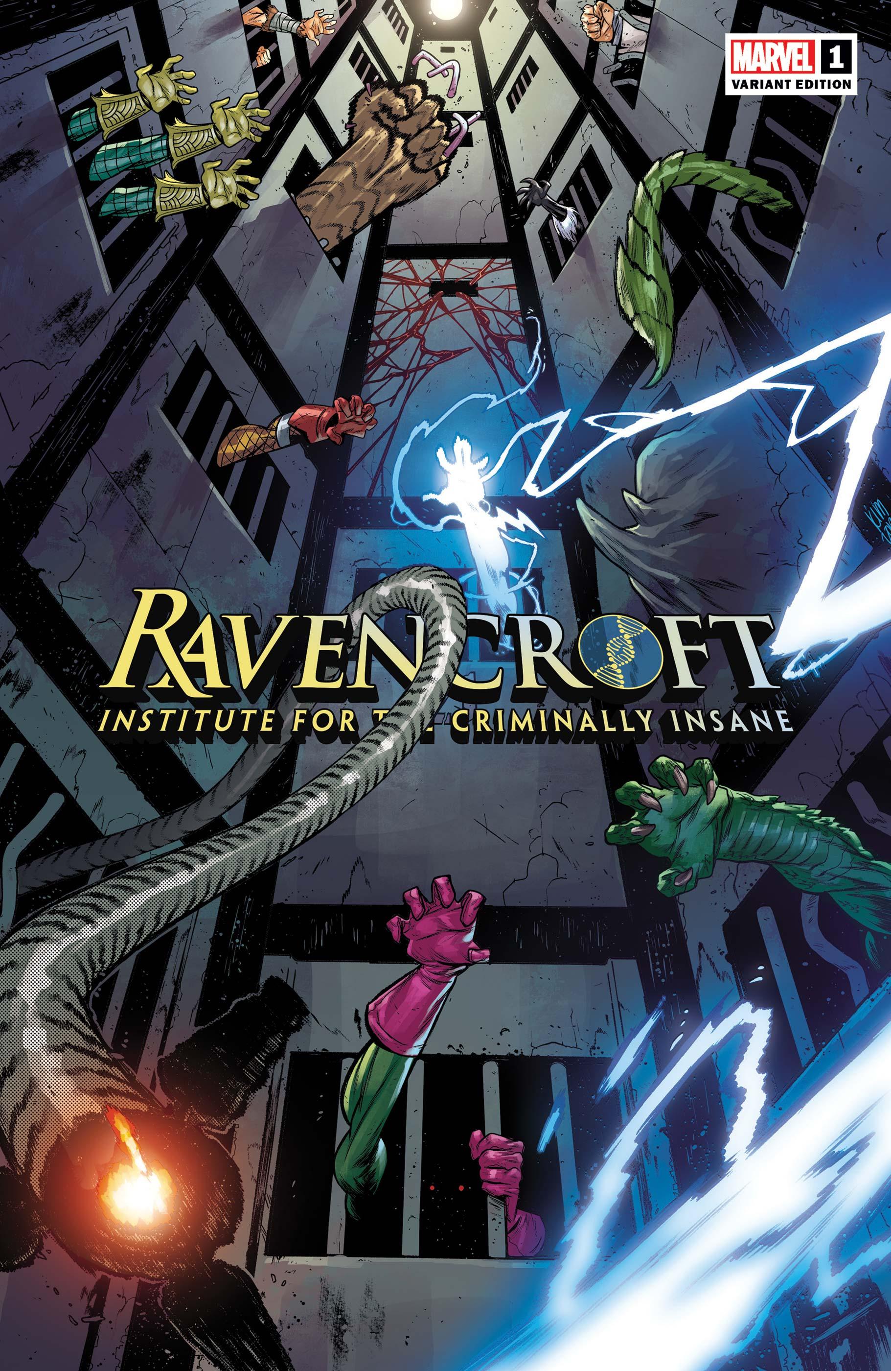 Ravencroft (2020) #1 (Variant)