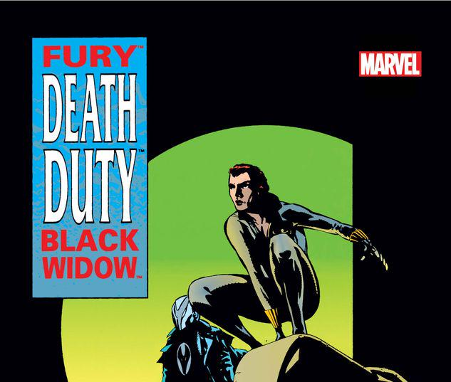 FURY/BLACK WIDOW: DEATH DUTY GRAPHIC NOVEL 1 #1