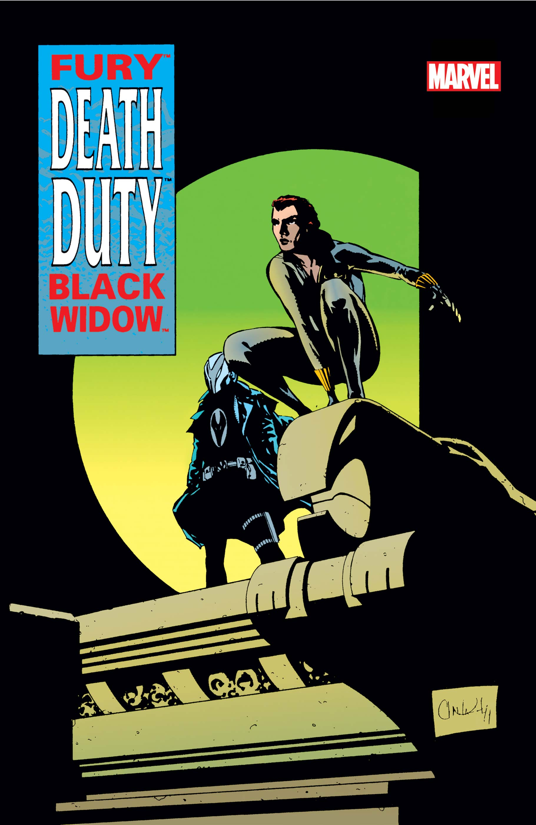 Fury/Black Widow: Death Duty (1995) #1