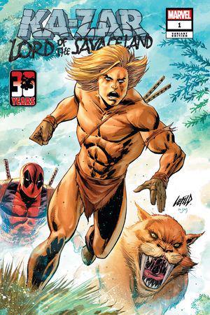 Ka-Zar Lord of the Savage Land (2021) #1 (Variant)