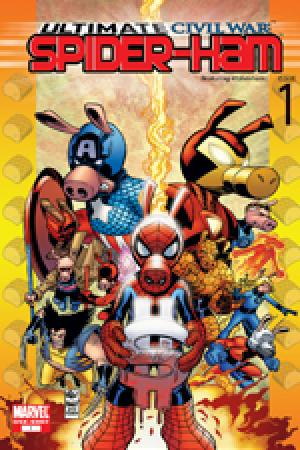 Ultimate Civil War: Spider-Ham (2007)