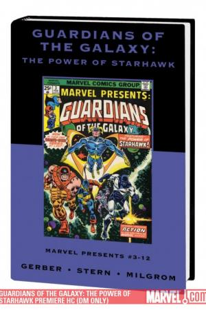 Guardians of the Galaxy: The Power of Starhawk (Hardcover)