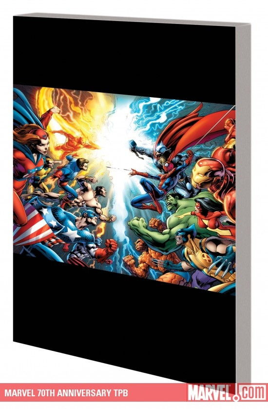 Marvel 70th Anniversary (Trade Paperback)