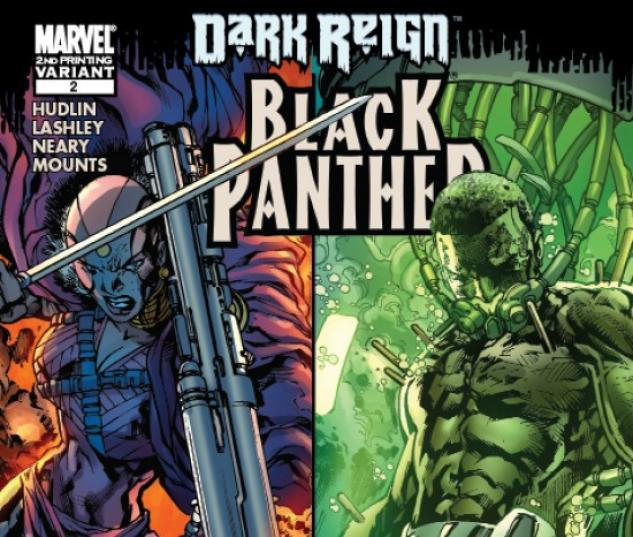 BLACK PANTHER #2 (LASHLEY 2ND PRINTING VARIANT)