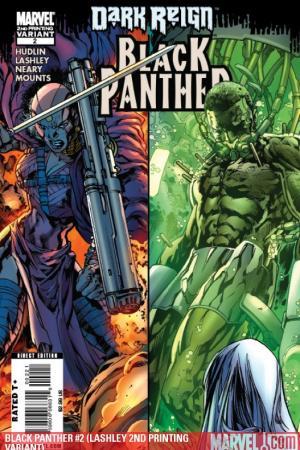 Black Panther (2008) #2 (LASHLEY 2ND PRINTING VARIANT)