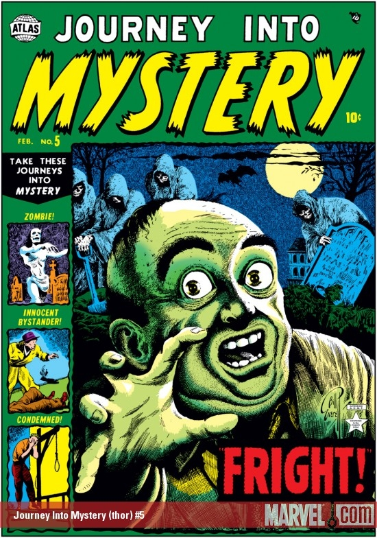 Journey Into Mystery (1952) #5